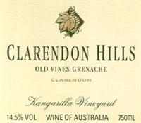 Clarendon Hills Grenache Old Vines Kangarilla Vineyard